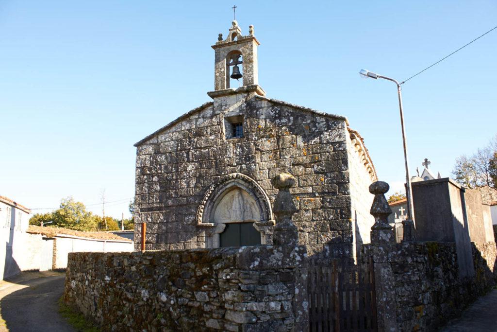 Centro Melide, Camino dde Santiago