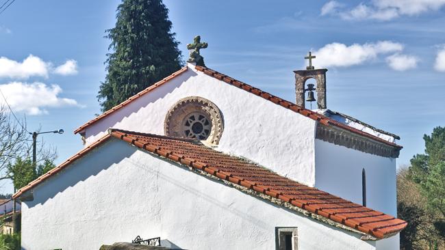 Iglesia Vitiriz en Melide, A Coruña