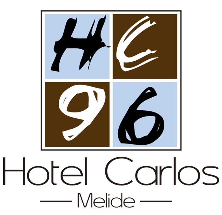 Logotipo Hotel Carlos 96 en Melide