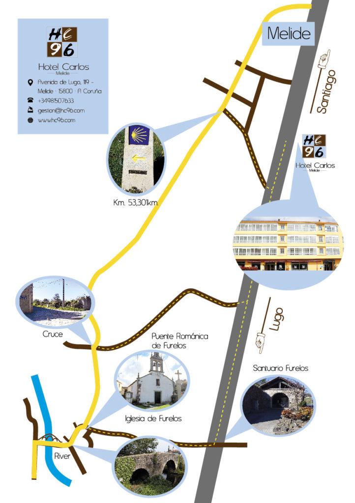 Hotel en Melide, A Coruña