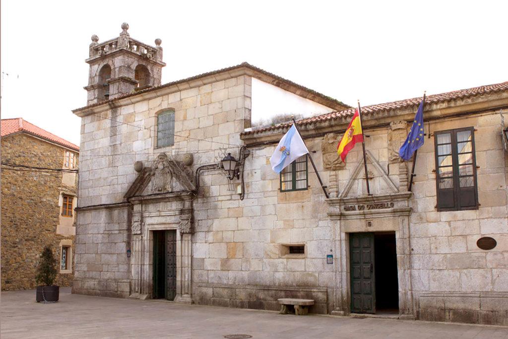Obra pia sanatorio y ayuntamiento de Melide
