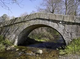 Puente Lobreiro en Melide, A Coruña